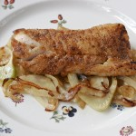Cajun Cod with Fennel and Onions