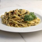 Pistachio and Fresh Basil Pasta