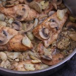 Chicken and Artichoke Saute