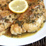 30-Minute Italian Lemon Chicken Saute
