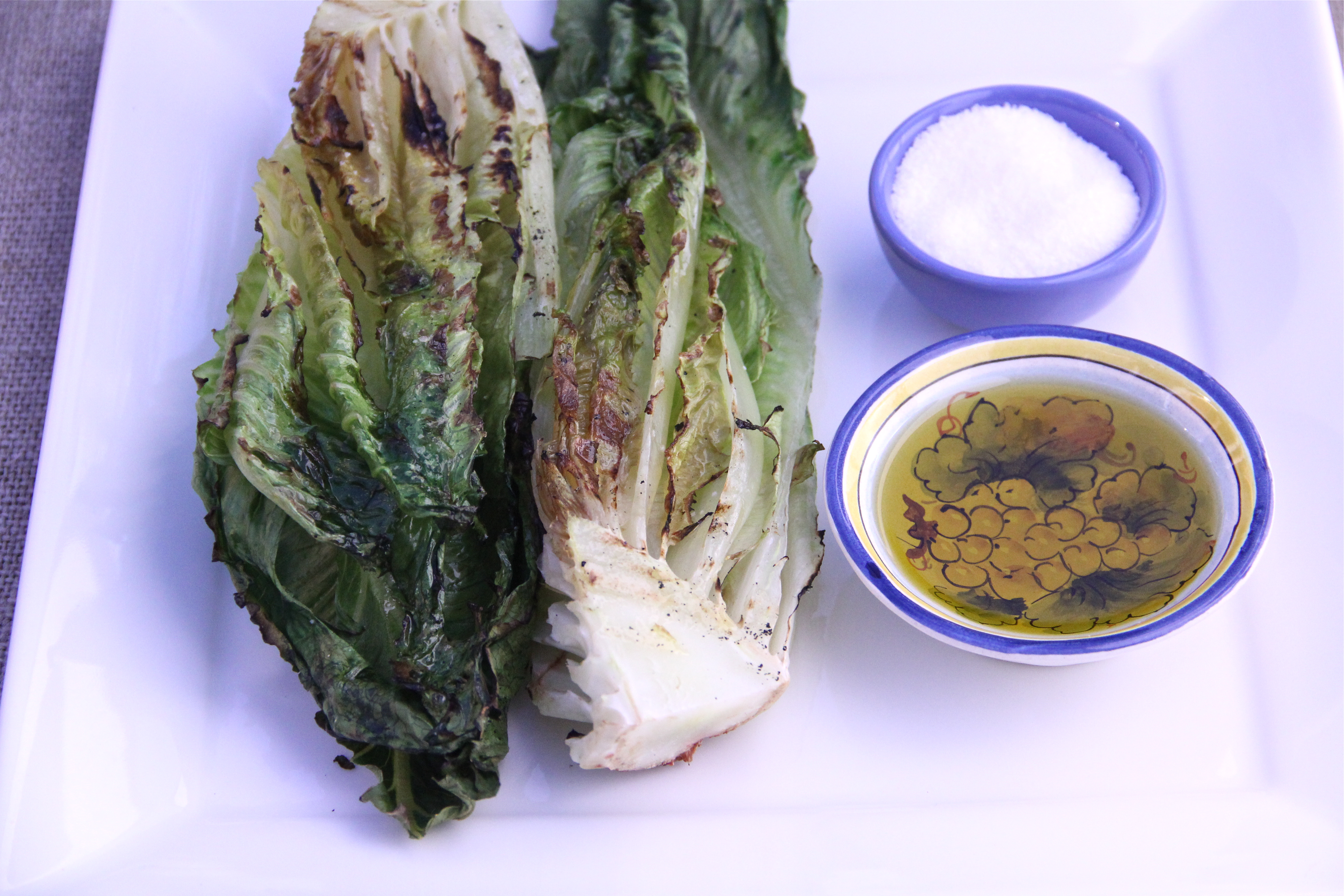 Year at the Table » Grilled Romaine Lettuce