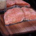 Grilled Cedar Plank Salmon with Beurre Blanc Sauce