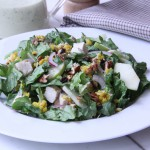 Middle Eastern Greens and Couscous Salad