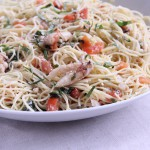 Dungeness Crab Angel Hair Pasta