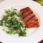 Asian Glazed Grilled Salmon