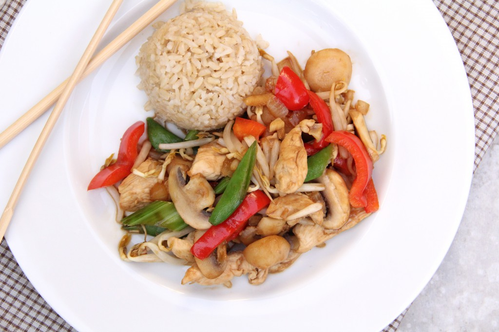 Auggie's Chicken Stir-Fry