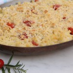 Mac 'n Cheese with Oven Roasted Tomatoes and Rosemary