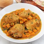 Moroccan Skillet Chicken with Butternut Squash