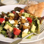 Autumn Falafel Salad