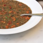 French Lentil Soup (with vegan and vegetarian variations)