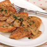 30 Minute Dijon Chicken with Mushrooms