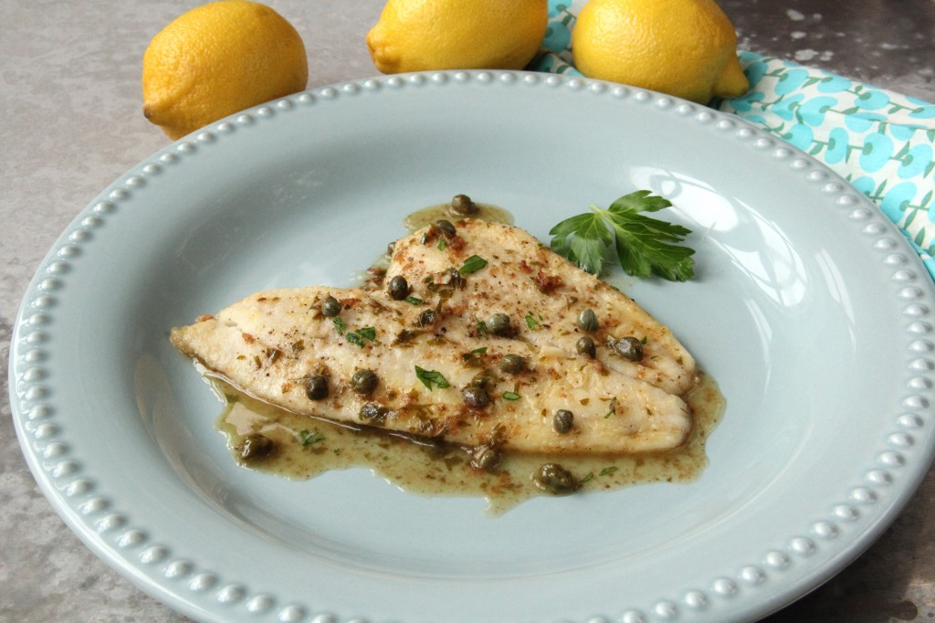 15-Minute Lemon Caper Petrale Sole