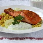 30-Minute Curry Dusted Pan-Seared Salmon