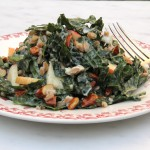 Ancient Grains, Super Tasters and Yin and Yang – Kamut, Almond and Kale Salad