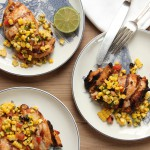 Chipotle Lime Chicken with Grilled Corn Salsa