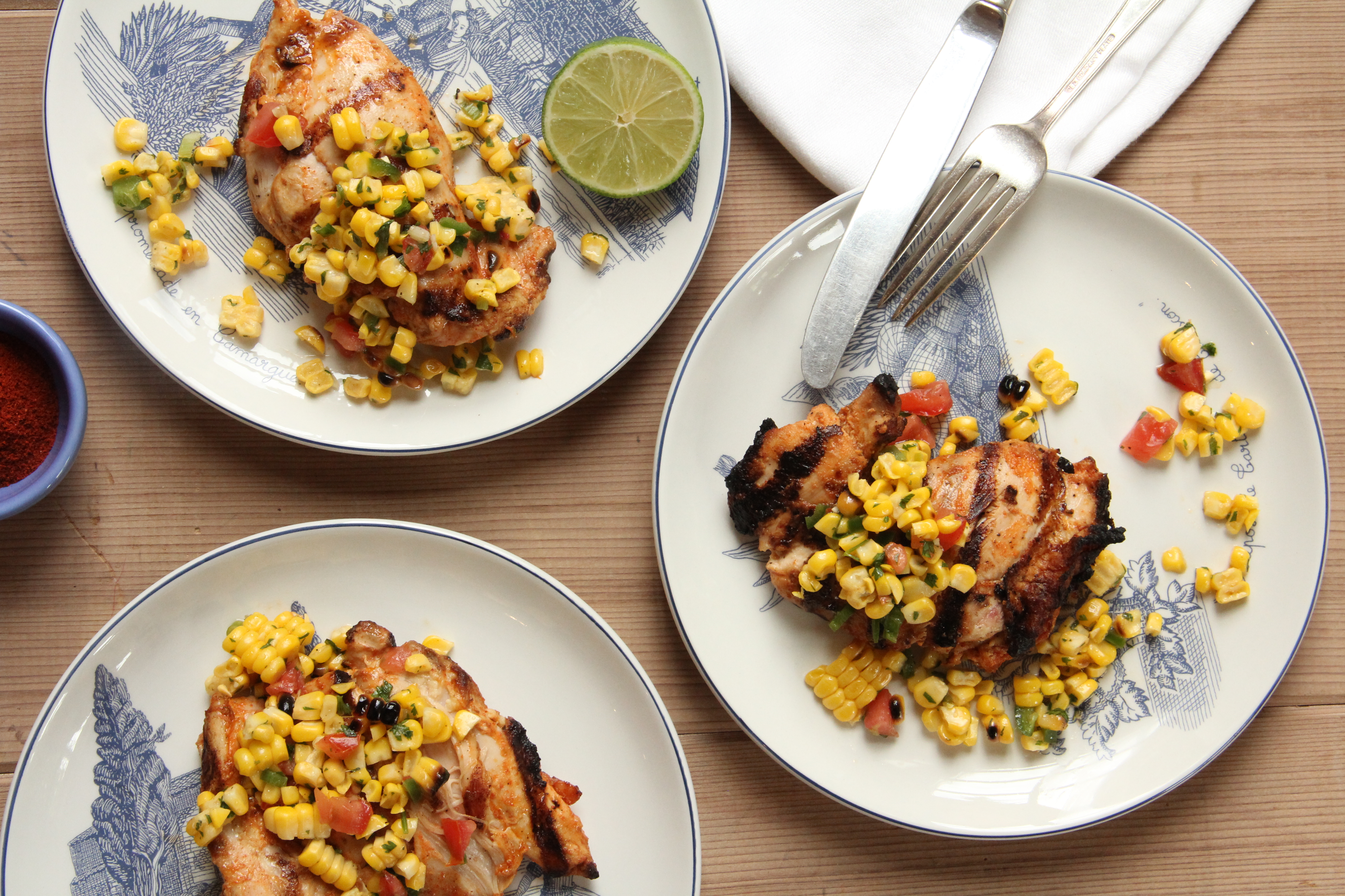 Corn Salsa With Lime Recipes — Dishmaps