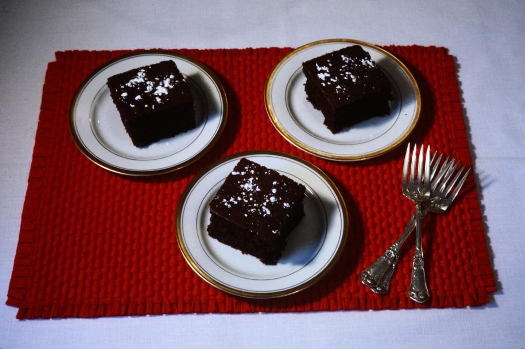 Lentil Chocolate Cake