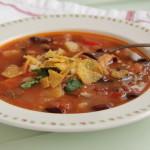 Chorizo Tortilla Soup