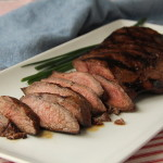 Island Teriyaki Grilled Flat Iron Steak