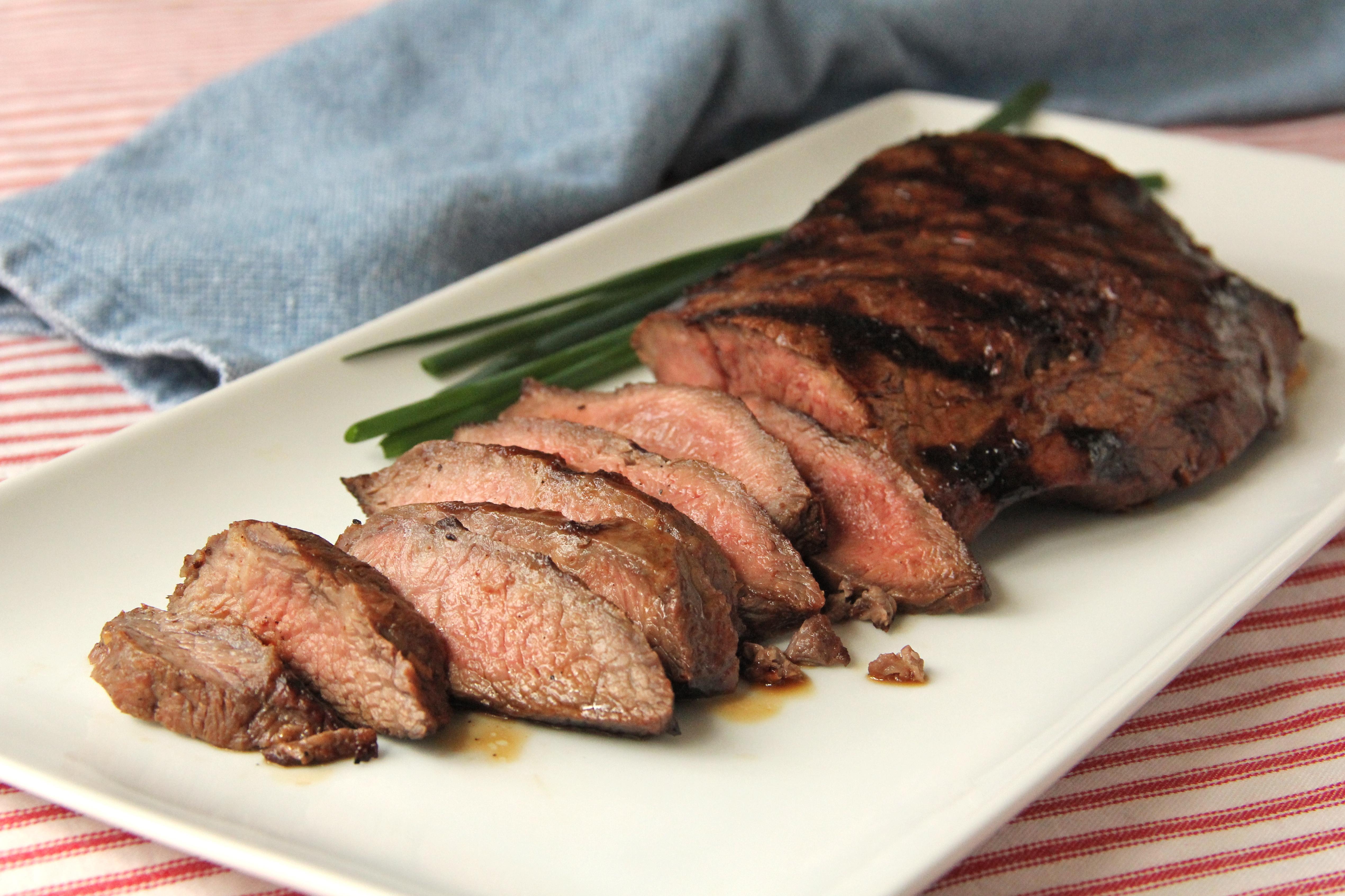 Island Teriyaki Grilled Flat Iron Steak