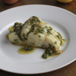Oven Seared Cod with Lemon Vinaigrette