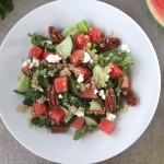 Summer Kissed Watermelon Salad