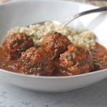 Ginger Cilantro Chicken Meatballs