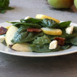 Pear Spinach Salad with Honey Vinaigrette