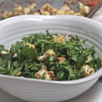 Caramelized Cauliflower and Arugula Salad